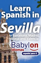 Spanish courses in Sevilla