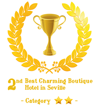 Second Prize Best Charming 2 Star Hotel in Sevilla - click for more information