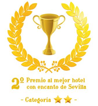 Segundo premio hotel con encanto de Sevilla - clic para más información