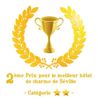 Meilleur Hôtel de Charme à Séville dans la catégorie deux étoiles