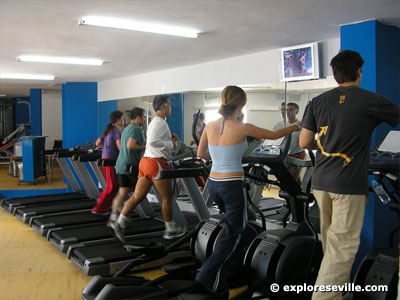 Sport in seville for Rosario fitness gimnasio